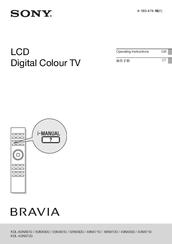 sony kdl 40nx700 bravia nx series lcd television manuals rh manualslib com sony bravia lcd manual pdf sony led user manual