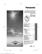 panasonic na-f75b3 operating instructions & installation instructions (32  pages)  fully automatic washing machine