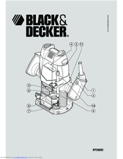 Black & Decker RP250BE Instructions Manual