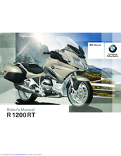 Bmw R 1200 Rt 2006 Manuals