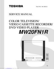 toshiba mw20h63 service manual download