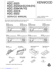 kenwood kdc 2023 manuals kenwood kdc 2023 service manual