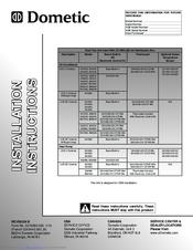 Dometic 459516 Manuals