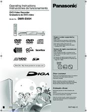 panasonic diga dmr e95h manuals rh manualslib com Panasonic DMR EZ485V Panasonic DMR- EZ48V