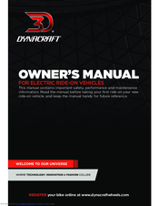 DYNACRAFT BMW S1000RR OWNER'S MANUAL Pdf Download