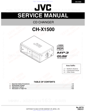 jvc chx1500 cd changer manuals rh manualslib com JVC 200 Disc CD Changer jvc 200 cd changer manual