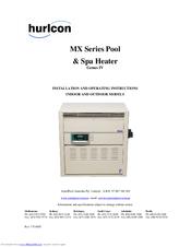 hurlcon mx 400 manuals rh manualslib com Raypak Pool Heater Manuals hurlcon viron pool heater manual