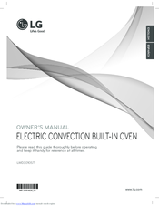 LG LWD3010ST Owner's Manual