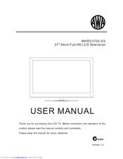 Awa MHDV3720-O3 Manuals