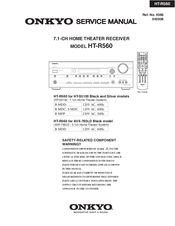 Onkyo ht-r560 | owner manual.