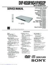 sony dvp ns41p cd dvd player manuals rh manualslib com sony dvd manual eject sony dvd player manual dvp sr200p