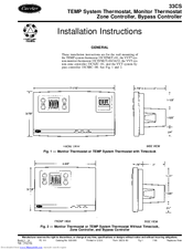 Carrier 33cs Manuals. Carrier 33cs Installation Instructions. Wiring. 33cs450 01 Thermostat Wiring Diagram At Scoala.co