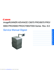 CANON IMAGERUNNER ADVANCE 9070 PRO SERIES SERVICE MANUAL DIGEST Pdf