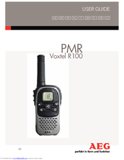 AEG VOXTEL R100 User Manual
