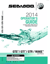 SEA-DOO GTS OPERATOR'S MANUAL Pdf Download