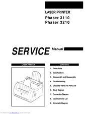 Xerox Phaser 3210 Service Manual