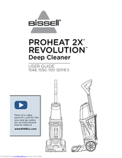 bissell proheat 2x manual troubleshooting