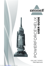 Bissell Powerforce 174 Helix Turbo Bagless Vacuum 68c7 Manuals border=