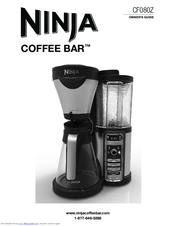Ninja Coffee Maker Instructions : Ninja COFFEE BAR CF080Z Manuals