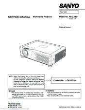 sanyo plc xe31 manuals rh manualslib com sanyo plc-xe33 projector manual Sanyo Projector Pro X Manual