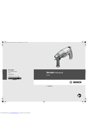 bosch tassimo t45 user manual