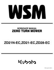 kubota zd21 ec manuals rh manualslib com Kubota ZD21 Parts Diagram Kubota Diesel ZD21 Model D 782