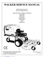 WALKER MT DETAILED INSTRUCTIONS Pdf Download. on