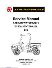 XY POWERSPORTS XY500UTV SERVICE MANUAL Pdf Download