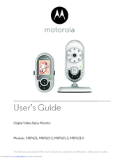 Motorola MBP621-3 User Manual