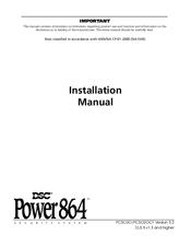 dsc pc5020 power864 manuals rh manualslib com dsc alarm manual power 864 DSC Alarm Manual Home