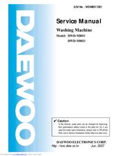 Daewoo DWD-M8011 Manuals
