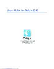 Nokia 6255 User Manual