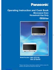 panasonic microwave nn-sf564w instructions