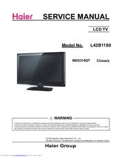 Haier L42B1180 Manuals