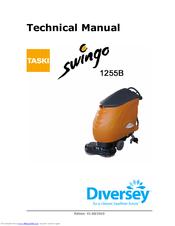 taski swingo 1255b power manuals rh manualslib com Taski Parts Diversey Taski Mop