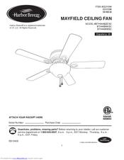 Harbor breeze ceiling fan installation manual pdf best harbor breeze bth44bnk5c manuals mozeypictures Choice Image
