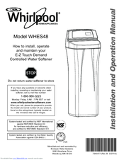 Whirlpool WHES48 Installation And Operation Manual