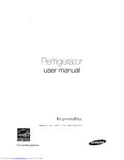Samsung Rh25h5611sr Manuals