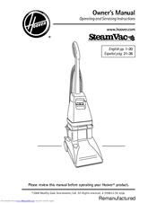 hoover steamvac dual v manuals rh manualslib com hoover steamvac spinscrub manual Hoover SpinScrub 50 Manual