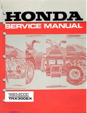 honda trx300ex service manual pdf download rh manualslib com Honda TRX300EX Parts 1994 Honda TRX300EX