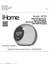 Ihome iBT29 Manuals