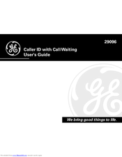 GE 29096 User Manual