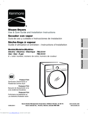 Kenmore 796.9044 Series Use & Care Manual And Installation Instructions