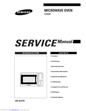 samsung ce325kf service manual pdf download rh manualslib com Samsung Refrigerator Manual Samsung Fridge Manual