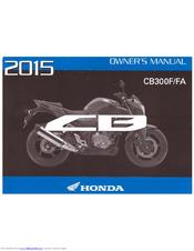 Honda Owners Manual >> Honda Cbr300r 2015 Manuals