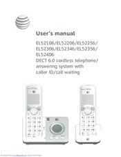 at t el52206 manuals rh manualslib com