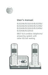AT&T EL52300 User Manual