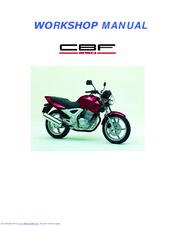 Honda 2010 CBX 250 Workshop Manual