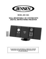 jensen jmc 180a manuals rh manualslib com jensen clock radio cd player manual Jensen Stereo CD Player