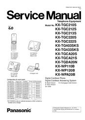 panasonic kx tgc222s manuals rh manualslib com panasonic manual cordless phone panasonic cordless manuals/kx tg 350
